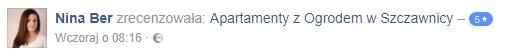 opinia o apartamentach z ogrodem